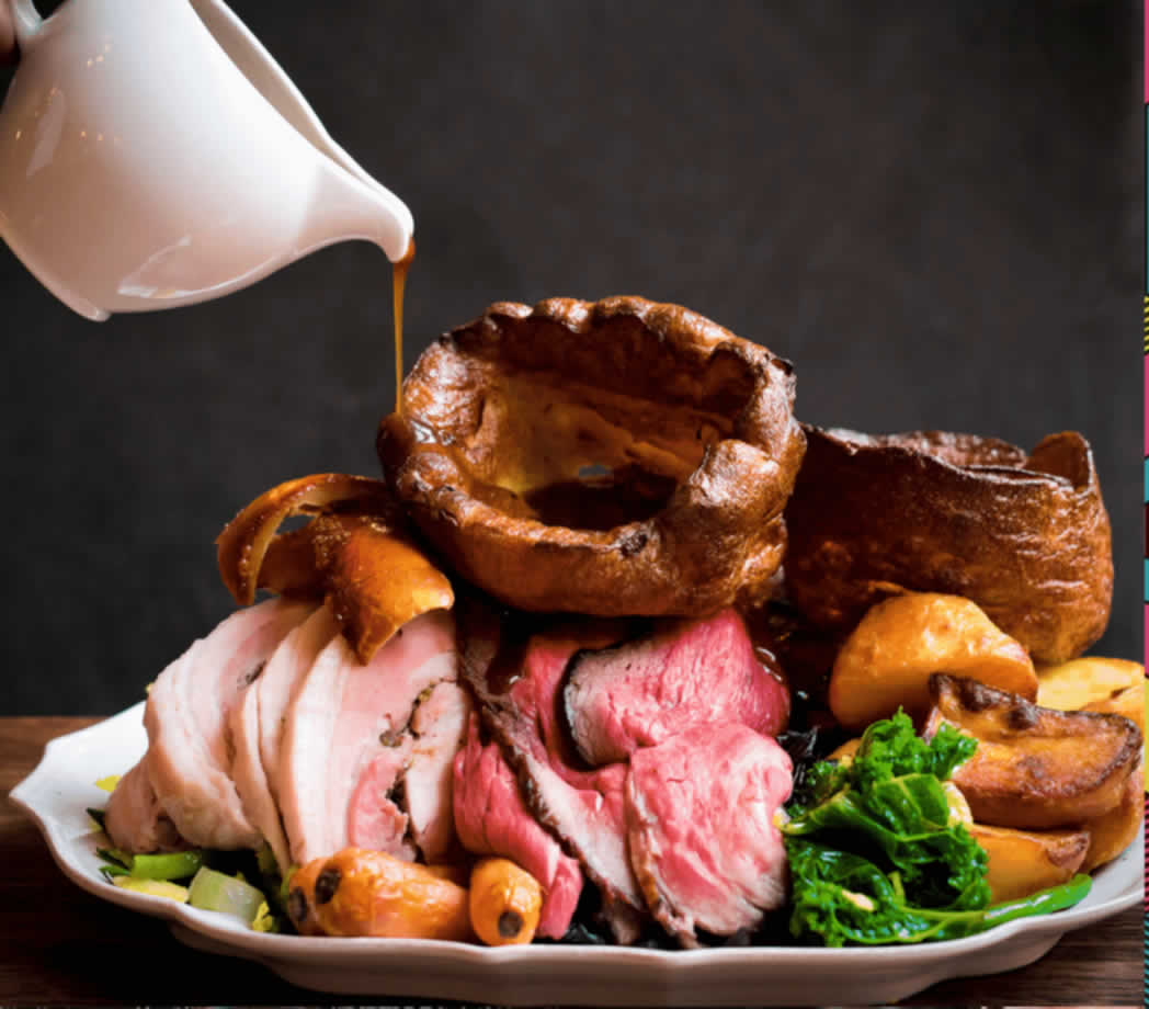 photo of roast dinner
